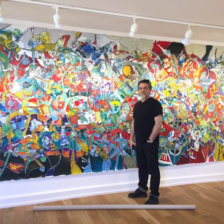 Artiste-Cavadore-Nouveaux-Mondes-Exposition-Art-Contemporain-Galerie-Biarritz-2017