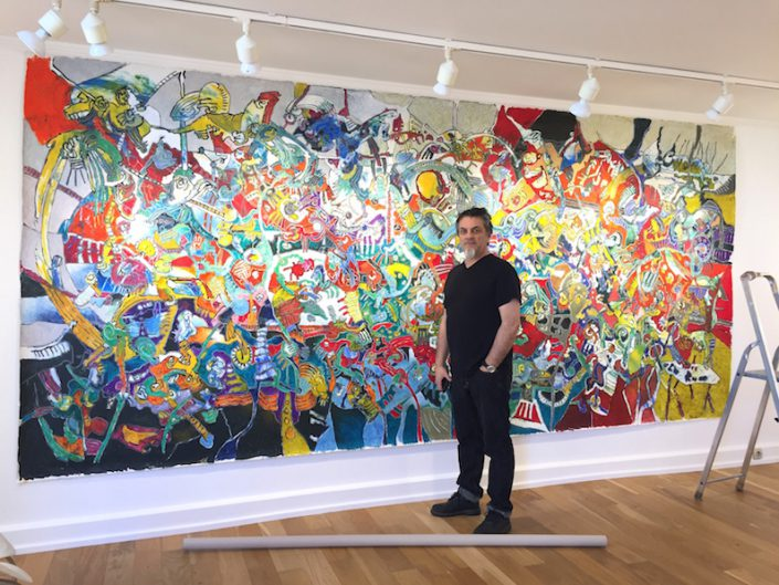 Cavadore-Installation-Peinture-XXL-Exposition-Biarritz-2017