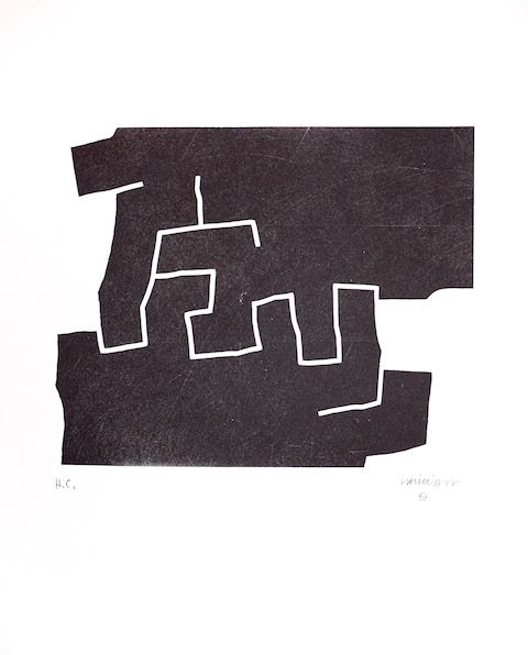 Chillida-oeuvre-uztarri-art-estampe-multiple-pays-basque-biarritz