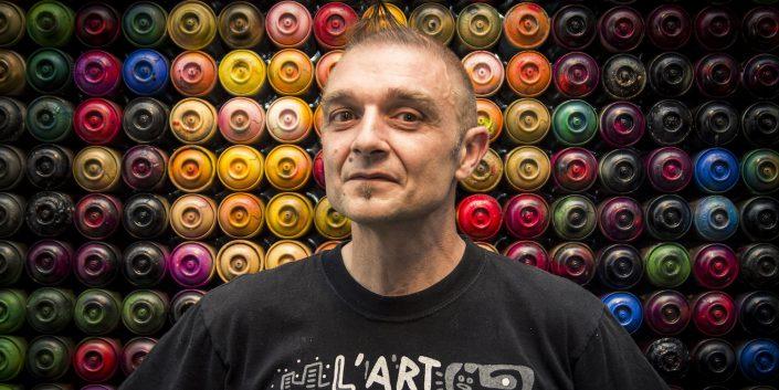 Portrait-Speedy-Graphito-Artiste-Peintre-Contemporain
