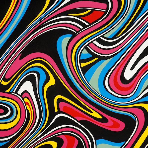 Artiste-Speedy-Graphito-Oeuvre-Brainwash-Techno-Abtrait-Contemporain-Titi-Pop-Art