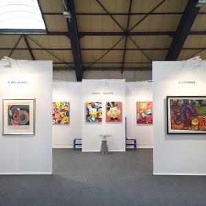Exposition-Art-Fair-Strasbourg-France-Art-Contemporain-Combas-Speedy-Graphito-Delaunay
