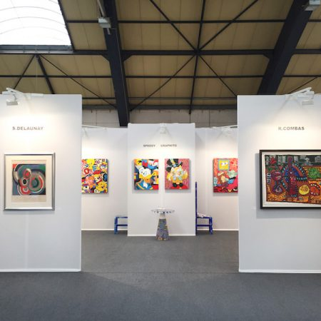 Exposition-Art-Fair-Strasbourg-France-Art-Contemporain-Combas-Speedy-Graphito-Delaunay