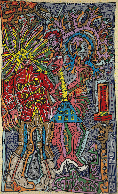 Combas-Robert-Peinture-1987-Taiwan-2017-Prix-Art-Contemporain