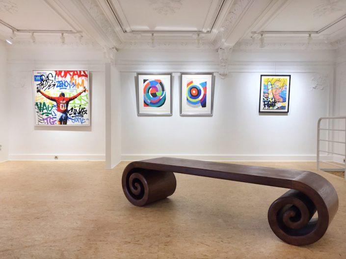 Art-Contemporain-Biarritz-Paris-Bordeaux-Lenz-Graffiti-Sonia-Delaunay-Speedy-Graphito-Group-Show-Oeuvres