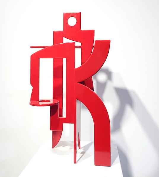 Dubreuille-Artiste-Sculpture-Contemporaine-France-Rouge-Art-Abstrait