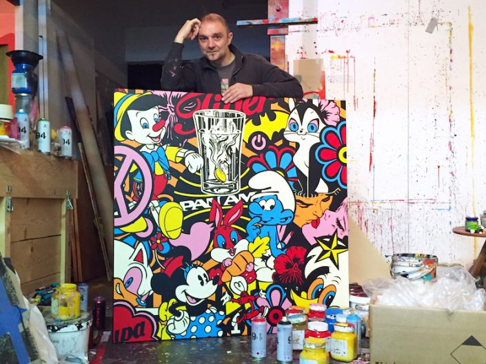 oeuvre-speedy-graphito-atelier-art-peinture-artiste-biarritz-barthelemy-bouscayrol-exposition-streetart-galeried'art-arturbain-exhibition