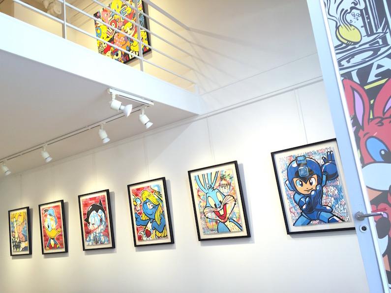 Exposition-Biarritz-2016-Artiste-Speedy-Graphito-Oeuvre-Peinture-Collection-Paris-France