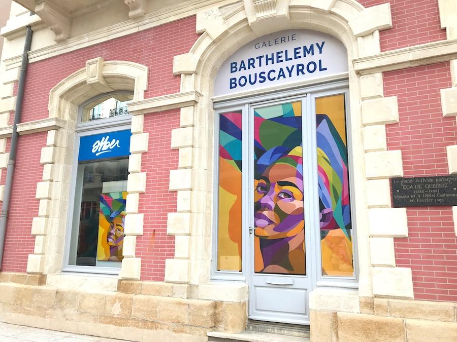 Exposition Intersection de l'artiste ALBER - Biarritz - Graffiti