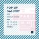 Pop Up Gallery-Paris-2018